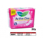 9591 Laurier Active Day 20's Sanitary Pads