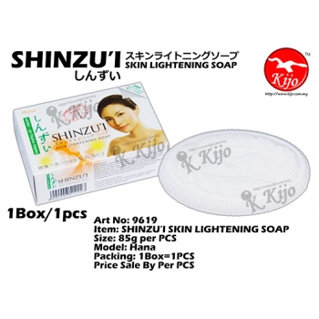 9619 SHINZU'I SKIN LIGHTENING SOAP - Hana