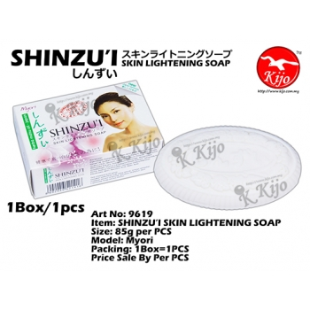 9619 SHINZU'I SKIN LIGHTENING SOAP - Myori