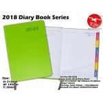 BK1828 KIJO 2018 Diary Book-Green