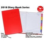 BK1828 KIJO 2018 Diary Book-Red