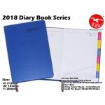 BK1828 KIJO 2018 Diary Book-Blue