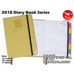 BK1829 KIJO 2018 Diary Book-Brown