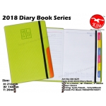 BK1829 KIJO 2018 Diary Book-Green