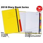 BK1829 KIJO 2018 Diary Book-Yellow