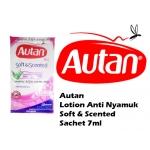 Autan Mosquito Repellent Lotion Soft & Scented Sachet