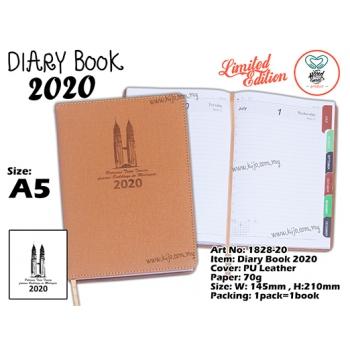 1828-20 Diary Book 2020 - Brown