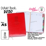 1828-20 Diary Book 2020 - Red