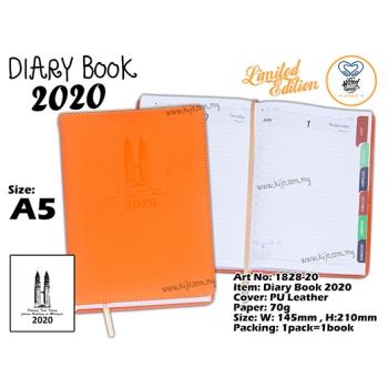 1828-20 Diary Book 2020 - Orange