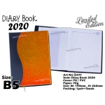 8497 Diary Book 2020 - B5 - Brown