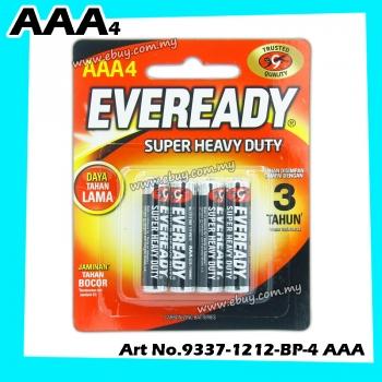 EVEREADY Super Heavy Duty Batteries AAA (4 Pcs) 1212BP4