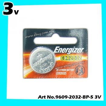 Energizer ECR2032 3V Lithium Battery 1pcs 100% Original Product Energizer