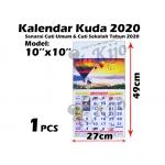 1010-2020 Kalendar Kuda 2020 Senarai Cuti Umum & Cuti Sekolah Tahun 2020