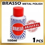 9552 Brasso Metal Polish - 100ml