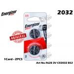 9628 Energizer Max CR2032 3V