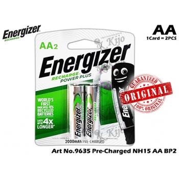 9635 Energizer Recharge Power Plus NH15 AA BP2