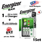 Energizer Recharge Maxi ( 1 Charger + 4x AA Nimh Battery ) 9636