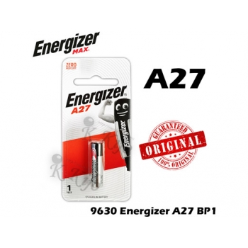 Energizer Max A27 BP1 12V Alkaline Battery BP1 9630
