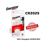 Energizer 2025 3V Lithium Battery BP2 CR2025 9631