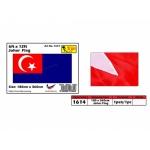 1614 6x12ft Johor Flag