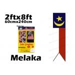 7397 60cm X 240cm Melaka Flag