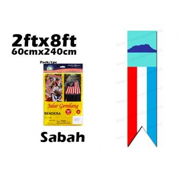 FM28 Sabah Cotton Flag