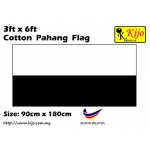 Cotton Pahang Flag Size: 90cm X 180cm ( 3ft x 6ft )