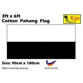 Cotton Pahang Flag Size: 90cm X 180cm ( 3ft x 6ft )