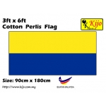 Cotton Perlis Flag Size: 90cm X 180cm ( 3ft x 6ft )