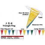 5742 KIJO PVC Triangle Flag x 5meter