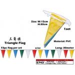 5743 Kijo PVC Triangle Flag
