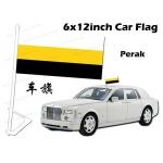 7485 6 X 12inch Perak Car Flag