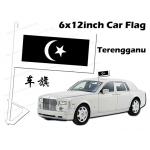 7123 6 X 12inch Terengganu Car Flag