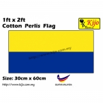 30cm X 60cm Cotton Perlis Flag