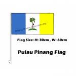 Pulau Pinang Car Flag