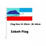 Sabah Car Flag
