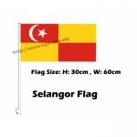 Selangor Car Flag