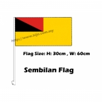 Sembilan Car Flag