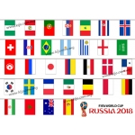 1870 Russia 2018 FIFA World Cup Flag-S