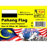 1922 90x180cm Pahang Flag - Cotton Polymesh