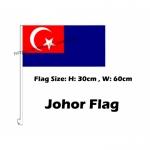 Johor Car Flag