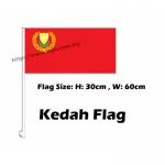 Kedah Car Flag