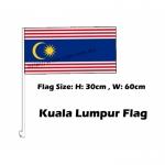 Kuala Lumpur Car Flag