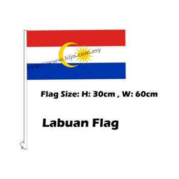 Labuan Car Flag
