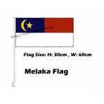 Melaka Car Flag