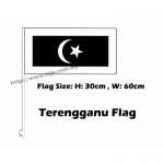 Terengganu Car Flag