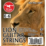 7687 Kijo Lion Guitar Strings E-6