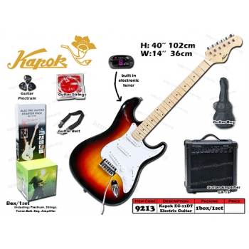 9213 Kapok EG-11DT Electric Guitar Set