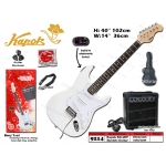 9214 Kapok KG-2DT Electric Guitar Set