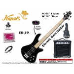 9215 Kapok EB-29 Electric Bass Guitar Set